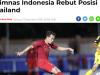 Báo Indonesia hả hê với kịch bản U22 Việt Nam 'tử chiến' với Thái Lan