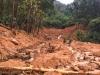 Hàng nghìn khối đất đá đã vùi lấp khu nhà điều hành thủy điện Rào Trăng 3