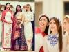 Ngọc Hân, Phương Nga lấn át cả cô dâu trong đám cưới ái nữ đại gia Ấn Độ