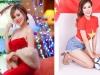 Hot girl Mai Thỏ tái xuất với loạt ảnh cổ vũ U23 Việt Nam
