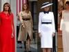Đẳng cấp thời trang của Đệ nhất phu nhân Mỹ khi gặp Nữ hoàng Anh