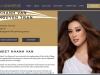 Khánh Vân xuất hiện đầy ấn tượng trên trang chủ Miss Universe