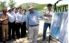 Nhà máy điện hạt nhân Ninh Thuận sẽ có đê chắn sóng cao 15 m