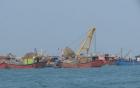 Tàu cao tốc bị chìm, 3.000 lít dầu tràn ra biển 8