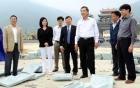 Bí thư Tỉnh ủy Phạm Văn Vọng kiểm tra tiến độ xây dựng các công trình ở khu danh thắng Tây Thiên