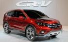 Honda CR-V được nâng cấp tính năng và sức mạnh