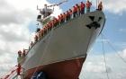 """Đài Loan hạ thủy """"sát thủ tàu sân bay"""" lớn nhất 7"""