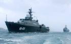 """Đài Loan hạ thủy """"sát thủ tàu sân bay"""" lớn nhất 8"""