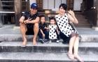 Vợ chồng Lý Hải đưa 3 con dễ thương đi ra mắt phim 6