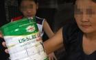Phát hoảng sữa rởm tràn vào trường mẫu giáo