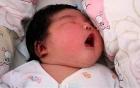 Thú vị bé sơ sinh nặng 6,3 kg trong ca sinh thường