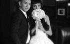 Lộ loạt ảnh cưới đẹp lung linh của Lê Thúy và bạn trai Việt Kiều
