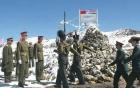 Hàng trăm binh sĩ Trung Quốc - Ấn Độ đối đầu trên dãy Himalaya