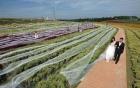 Kỷ lục với chiếc váy cưới có đuôi dài  4.800 m
