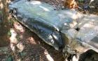 Phát hiện xác máy bay nghi của quân đội Mỹ tại Gia Lai