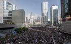 Văn phòng Trưởng Đặc khu hành chính Hong Kong bị bao vây