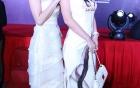 Mai Thu Huyền lần đầu khoe chị gái trong lễ ra mắt phim