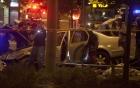 Xe điên cố tình đâm trạm xe điện, bé gái 3 tháng tuổi tử vong