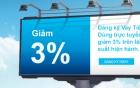 Vay tiêu dùng trực tuyến: Giảm 3% lãi suất hiện hành