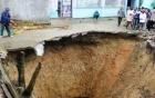 Hố tử thần ở Thanh Hóa: Sụt đất mà tưởng ba con bò làm sập chuồng 6