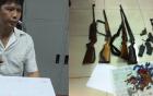 Quảng Ninh: Lái xe Fortuner chở 20 bánh heroin, trữ 8 khẩu súng
