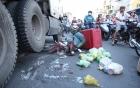 Đi xe kẹp 3 thanh niên 9X tử vong vì tông vào đuôi xe tải 7