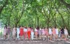 Top 17 Hoa khôi áo dài hòa mình vào thiên nhiên trong bộ ảnh mới
