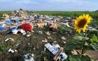 Xuất hiện video mới cảnh MH17 ngay khi lao xuống mặt đất