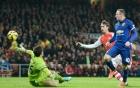Arsenal 1-2 Man Utd: Quỷ đỏ vào Top 4