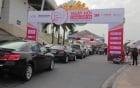 Hơn 350 xe ô tô được chăm sóc toàn diện tại SVĐ Mỹ Đình