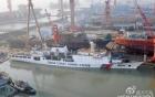 """Đài Loan hạ thủy """"sát thủ tàu sân bay"""" lớn nhất 9"""