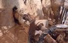 Tiến hành khoan khô để nhanh chóng giải cứu 12 nạn nhân
