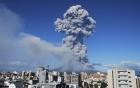 Clip: Cận cảnh cột khói khổng lồ 9000m giữa bầu trời Trung Mỹ