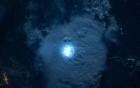 Tia sét nhìn từ vũ trụ, ở độ cao 400km