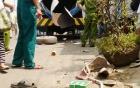 Xe bồn bất ngờ phát nổ như bom, 2 người trọng thương