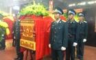 Hình ảnh lễ viếng 4 chiến sĩ hy sinh trong vụ trực thăng quân sự rơi