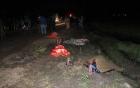 Vợ chồng và con gái bị xe bồn cán chết trong đêm