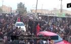 IS nhốt 21 chiến binh người Kurd trong lồng sắt diễu phố