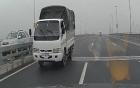 Phạt nguội tài xế đi ngược chiều trên cầu Nhật Tân 1 triệu đồng