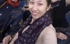 Trang Trần đi chùa cầu bình an sau scandal hành hung công an