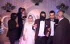 Đám cưới nhái cảnh phi công Jordan bị thiêu sống gây sốc