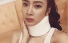 Angela Phương Trinh gặp sự cố bị chấn thương ở cổ