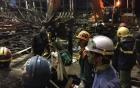 Vụ sập giàn giáo ở Vũng Áng: Kết thúc cứu nạn, xác định 13 người chết