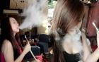 Học sinh đổ xô đi hút shisha: Màu áo trắng mờ khuất sau làn khói trắng mịt mù