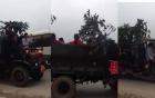 Clip rước dâu bằng xe công nông độc đáo ở Việt Nam