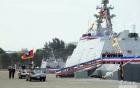 """Công nhân Việt Nam đóng tàu tên lửa tàng hình """"khủng"""" cho Đài Loan 3"""
