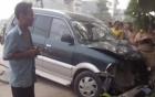 Bắt khẩn cấp tài xế lái xe biển xanh đâm 5 học sinh