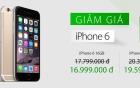 iPhone 6, 6 Plus và iPhone 4S chính hãng đồng loạt giảm giá sốc