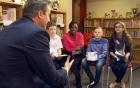 Câu hỏi của trẻ nhỏ khiến tổng thống Putin và Obama phải bối rối