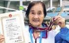 Video: Cụ bà 100 tuổi lập kỷ lục bơi 1.500m